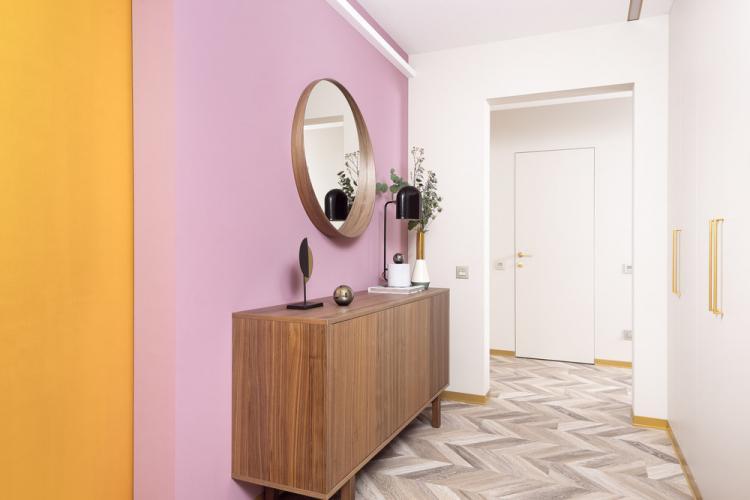 3х комнатная квартира «Современный абстракционизм» - дизайн интерьера