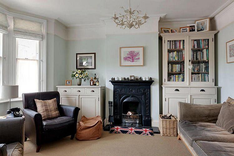 Мебель - Английский стиль в интерьере