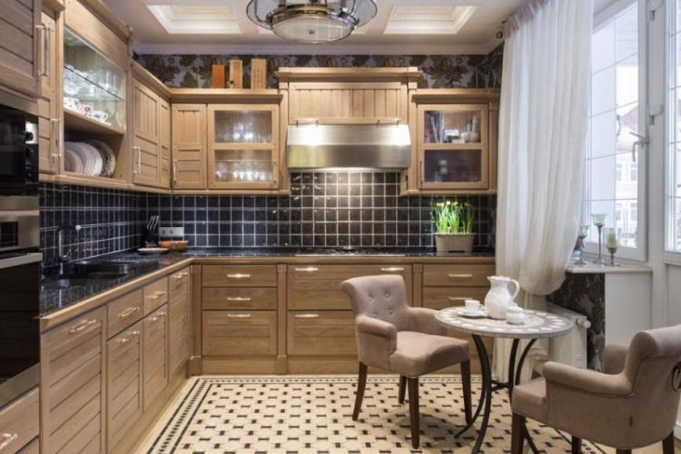 Кухня в английском стиле - Дизайн интерьера фото