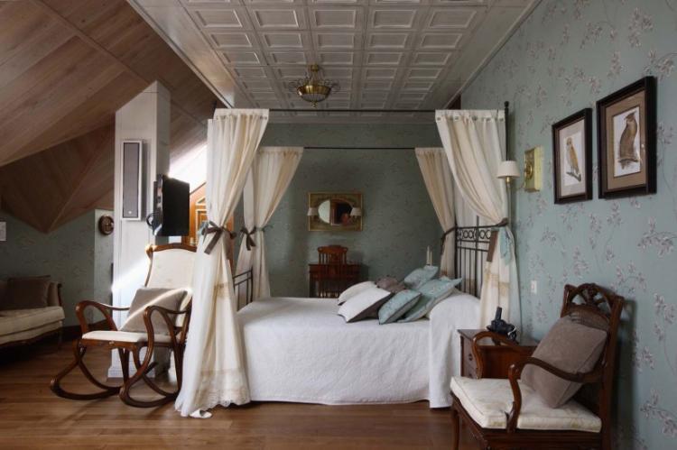 Спальня в английском стиле - Дизайн интерьера фото