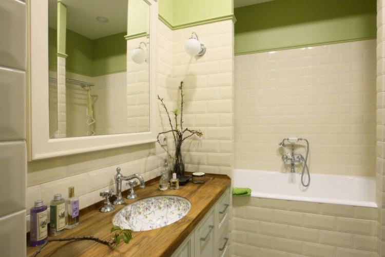 Ванная комната в английском стиле - Дизайн интерьера фото