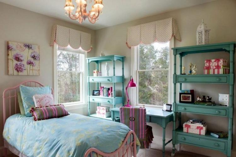 Детская комната в английском стиле - Дизайн интерьера фото