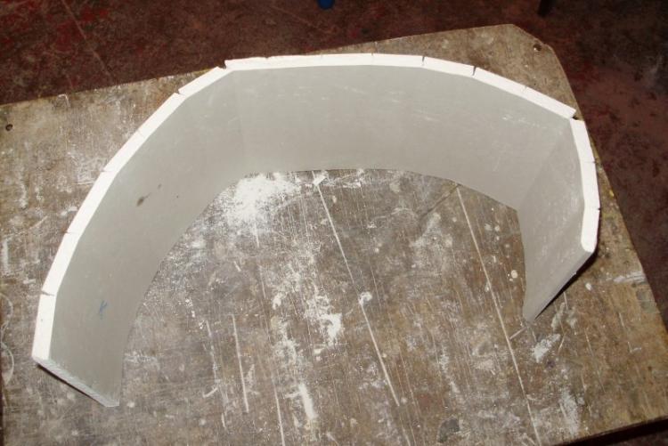 Как согнуть гипсокартон для арки
