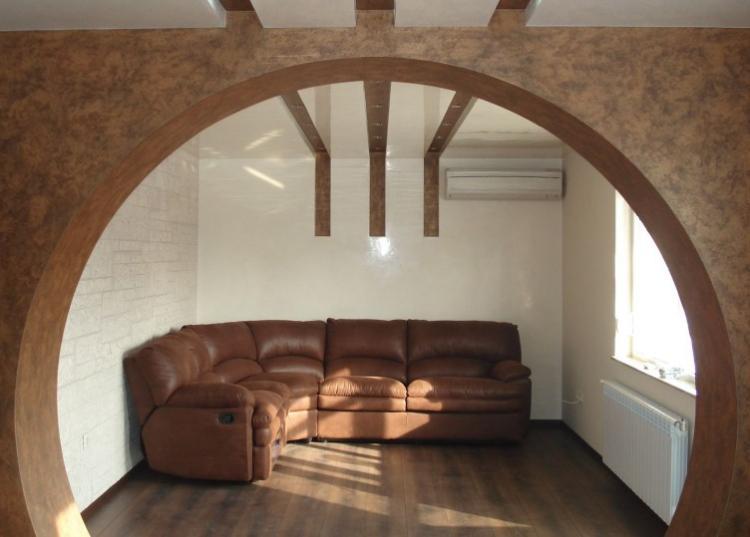 Круглые арки из гипсокартона