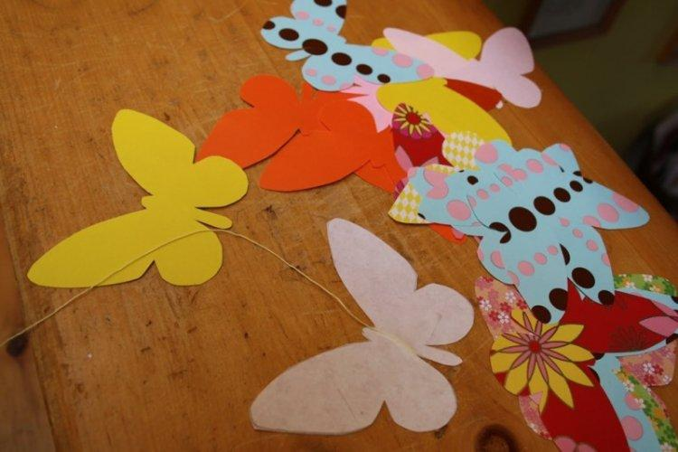 Бабочки из картона - Бабочки на стену своими руками