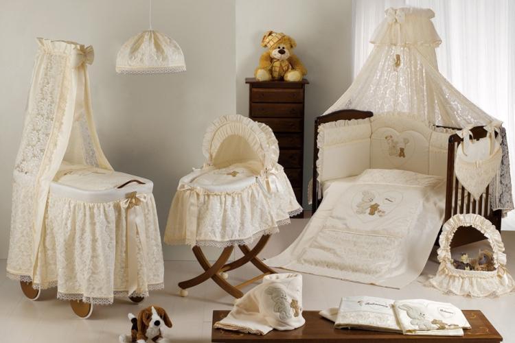 Способы крепления балдахина над кроваткой