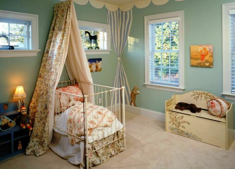 Балдахин на горизонтальной штанге на детскую кроватку своими руками