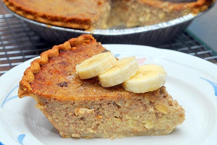 Банановый пирог с молоком в духовке - рецепты