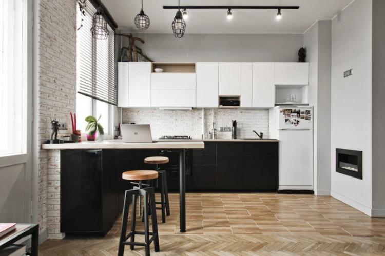 Барная стойка для кухни: 90 фото-идей