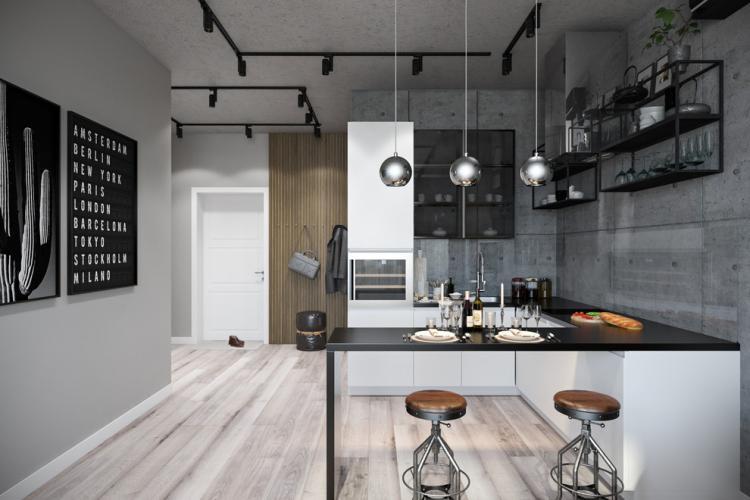 Акрил - Материалы для барной стойки для кухни