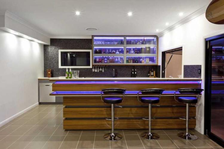 Декоративная подсветка - Барная стойка для кухни