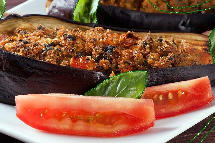 Баклажаны с мясом в духовке - Блюда из баклажанов рецепты
