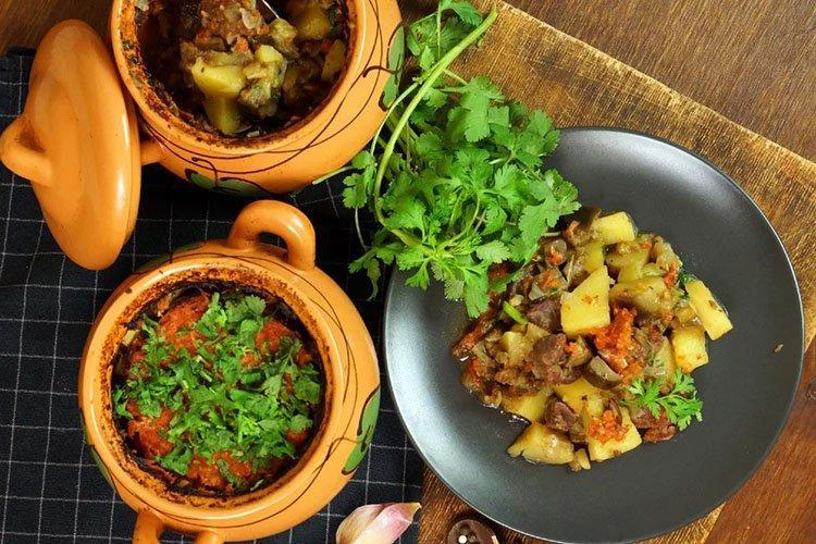 Жаркое из баранины с овощами - рецепты