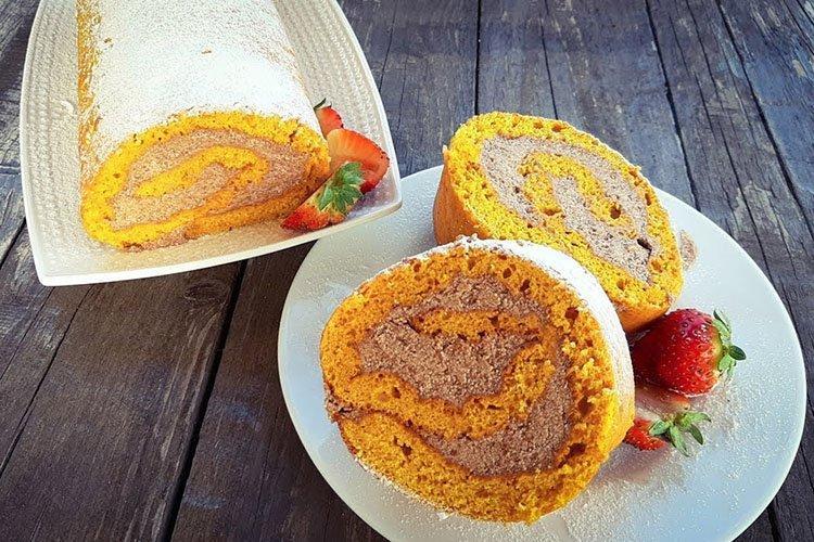 Тыквенный пирог с кремом - рецепты