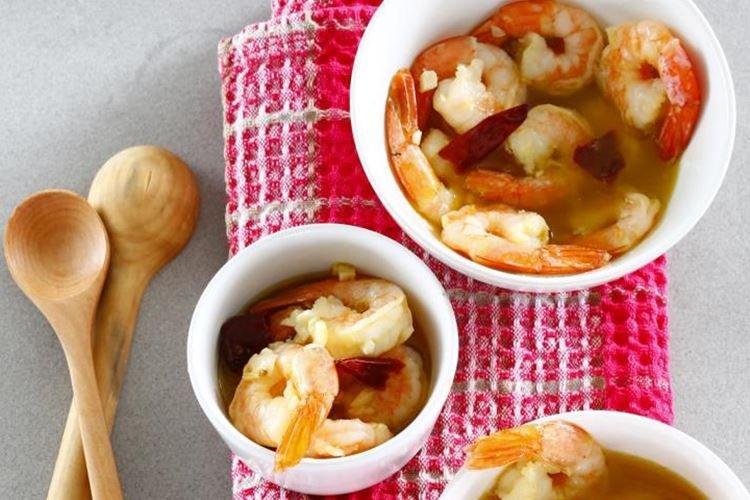 Креветки в чесночном масле - рецепты