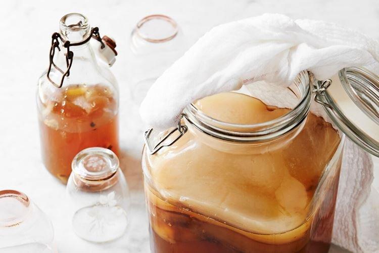 Емкость - Уход за чайным грибом
