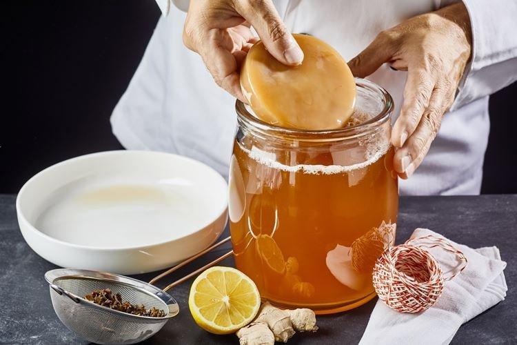 Готовый напиток - Уход за чайным грибом