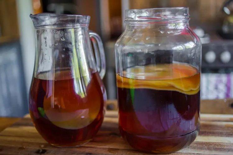 Рецепт комбучи (чайный гриб)