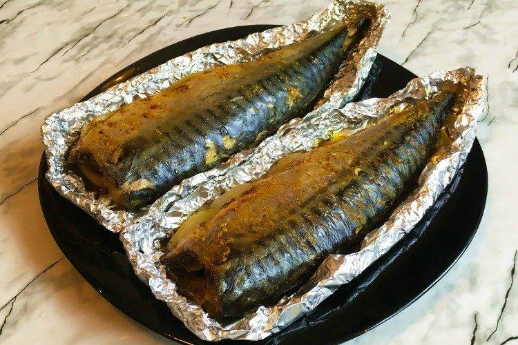 Запеченная скумбрия - Чем накормить гостей рецепты
