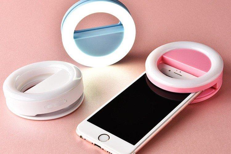 Светодиодное кольцо для селфи - Что подарить девушке на День рождения