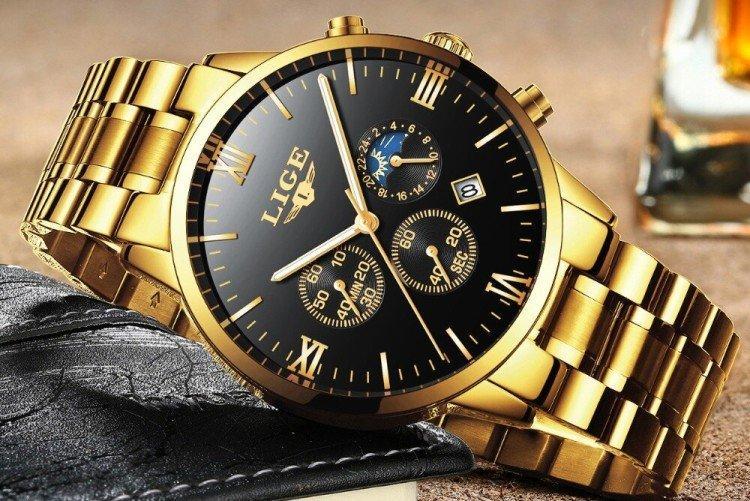Брендовые наручные часы - Что подарить мужчине на День рождения