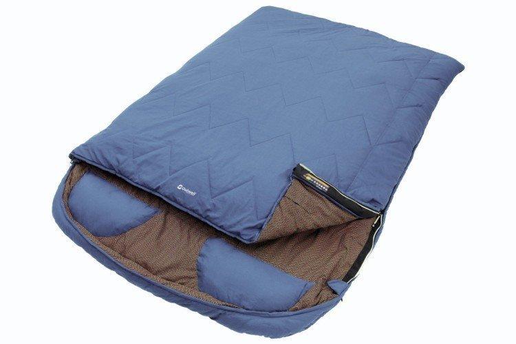 Двухместный спальный мешок - Что подарить на свадьбу молодоженам