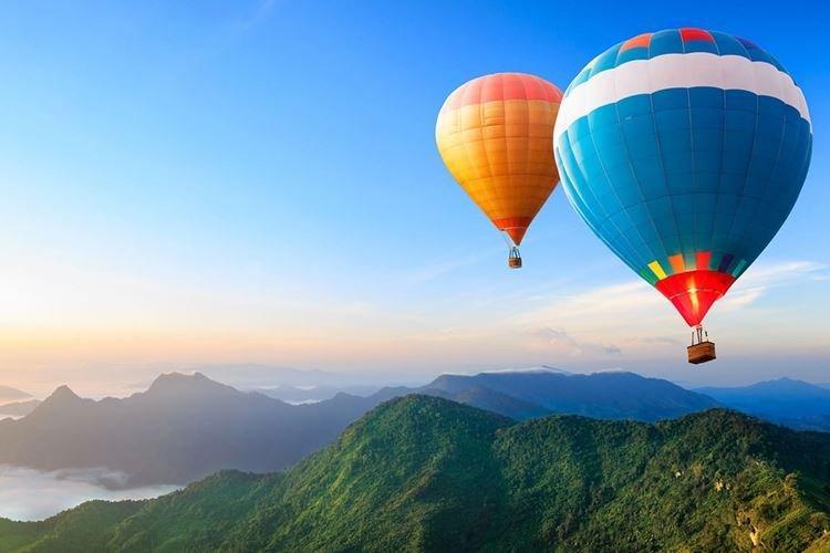 Полет на воздушном шаре - Что подарить папе на День рождения от дочери
