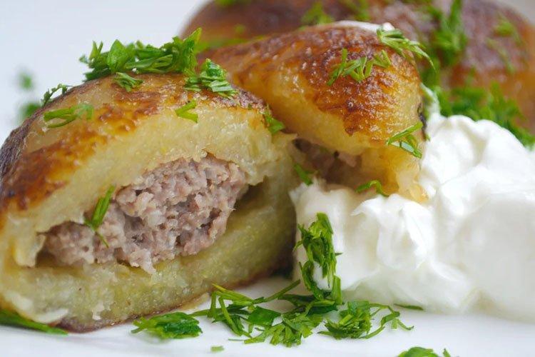 Колдуны картофельные с фаршем - Что приготовить из фарша и картошки рецепты