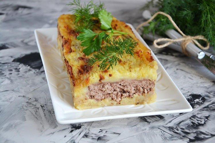Картофельная запеканка с фаршем - Что приготовить из фарша и картошки рецепты