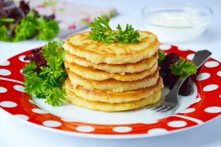 Картофельные блины - Что приготовить из картошки рецепты