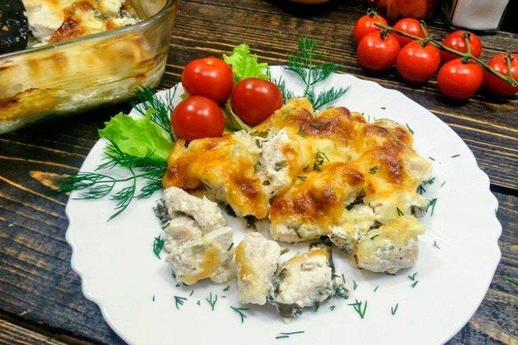 Курица с сыром на горячее - Что приготовить из куриного филе рецепты