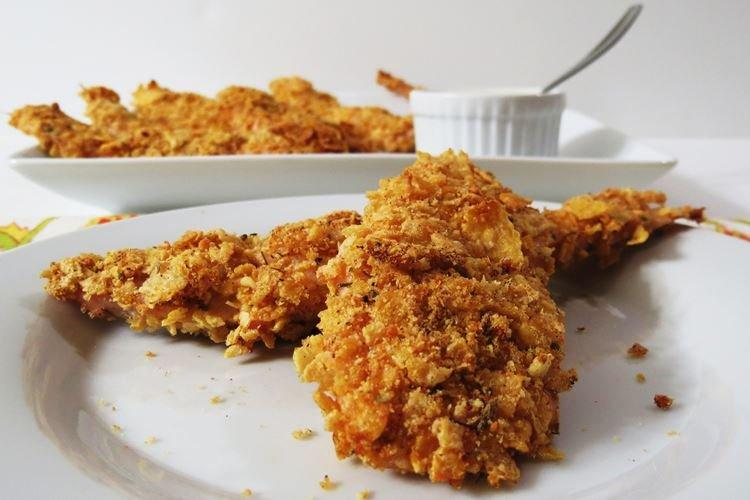 Наггетсы в овсяной панировке - Что приготовить из куриной грудки
