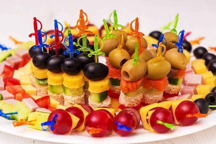 Закуска Ежик - Что приготовить на День рождения рецепты