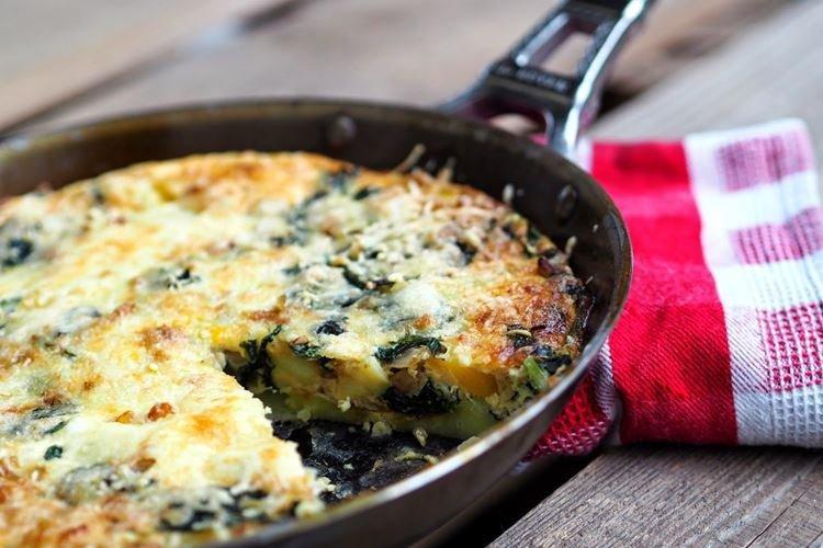 Фриттата - Что приготовить на завтрак быстро и вкусно
