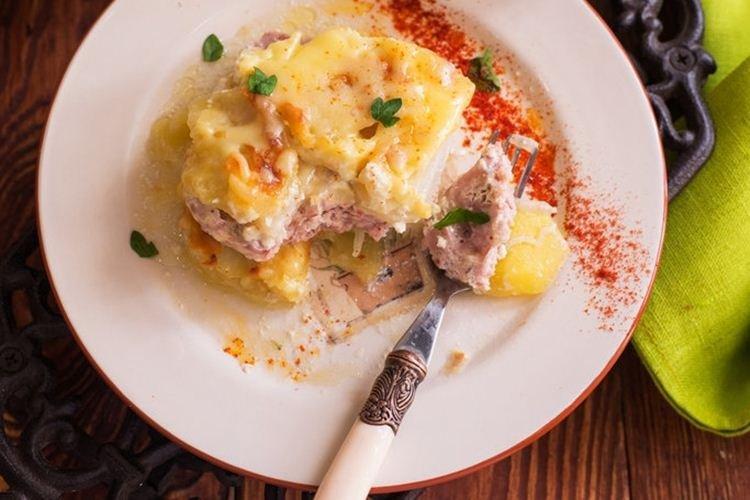 Картофельная запеканка - Что приготовить ребенку на День рождения рецепты