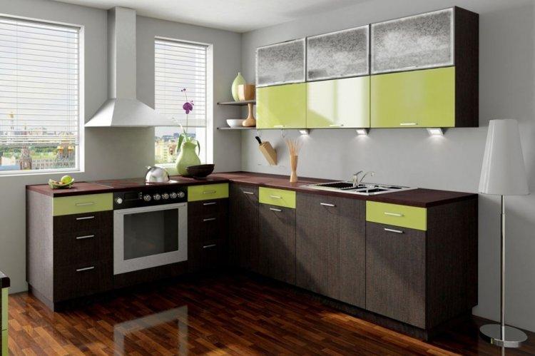 Цвет венге на кухне - дизайн фото