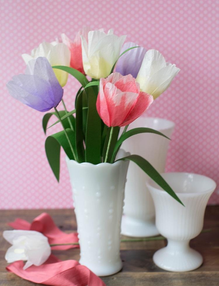 Цветы из бумаги своими руками - фото и идеи