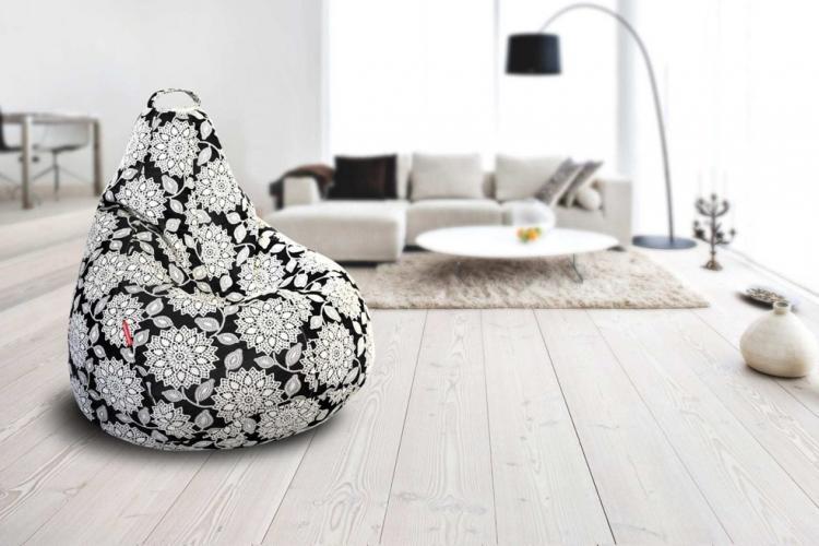 Кресло-мешок - Декор комнаты своими руками
