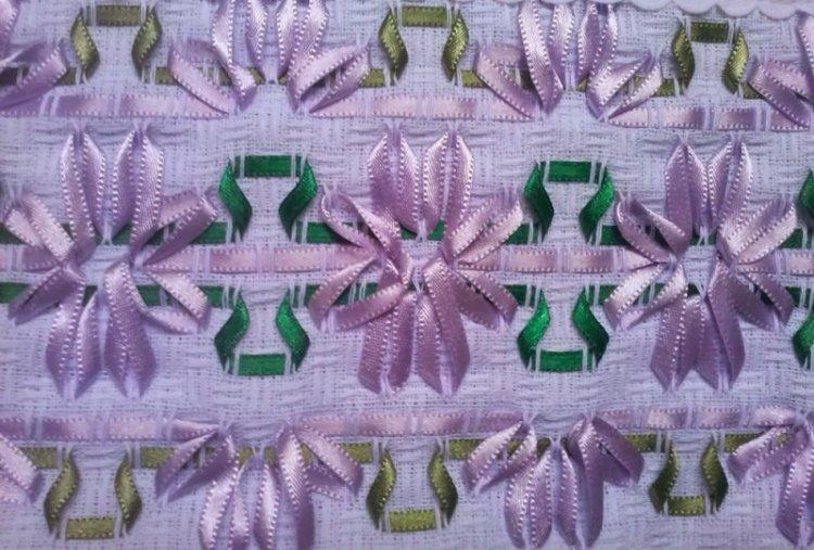 Плетение лентами - Декор комнаты своими руками