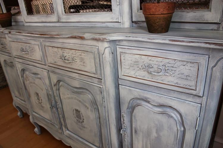 Состаривание мебели - Декор комнаты своими руками