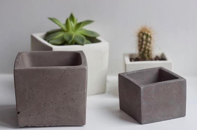 Декор из бетона - Декор комнаты своими руками