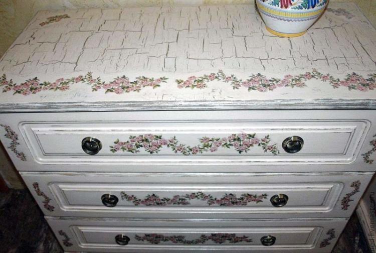 Кракелюр - Декор старого шкафа своими руками