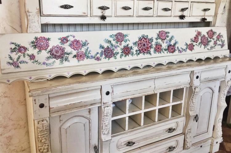 Декупаж - Декор старого шкафа своими руками