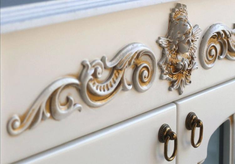 Патинирование - Декор старого шкафа своими руками