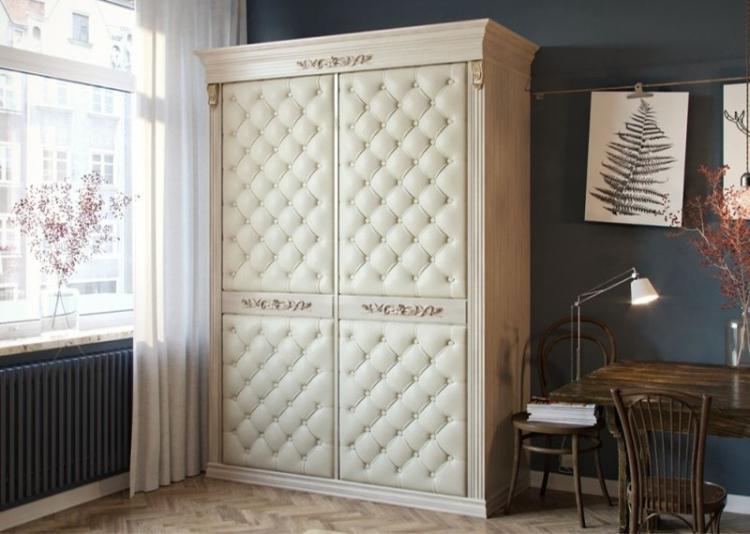 Обивка - Декор старого шкафа своими руками