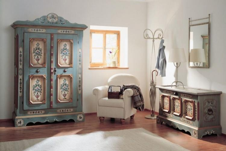 Декор старого шкафа своими руками - фото-идеи