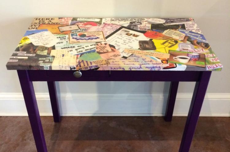 Декупаж - Декор старого стола своими руками