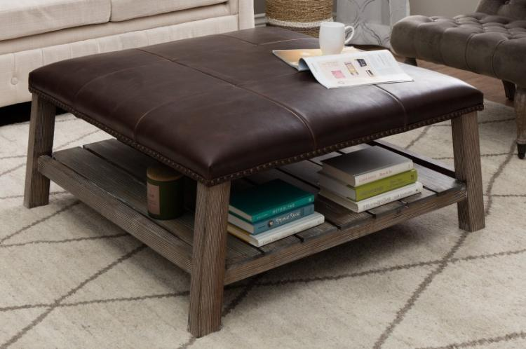 Обтяжка кожей или дермантином - Декор старого стола своими руками