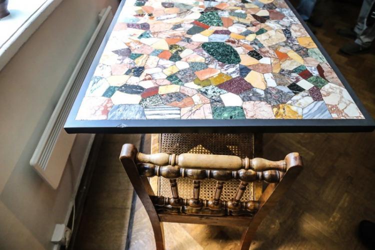Мозаика - Декор старого стола своими руками