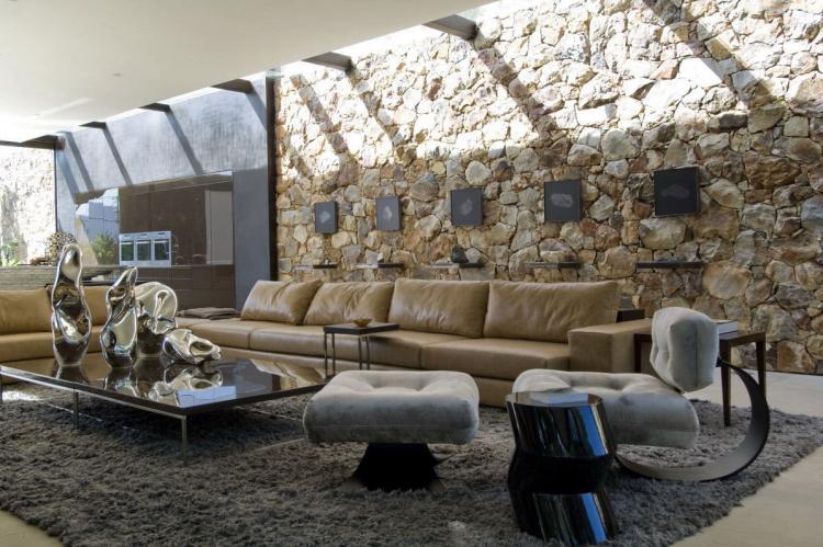 Лофт - Декоративный камень в интерьере